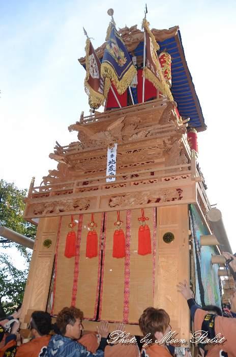 地蔵原だんじり(地蔵原屋台) ご殿前 西条祭り