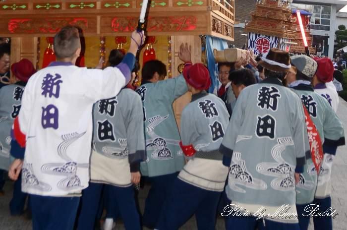新田だんじり(屋台) 祭り装束 西条祭り 伊曽乃神社祭礼