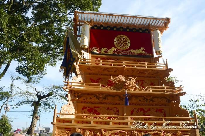 川沿町屋台(川沿町だんじり) ご殿前 伊曽乃神社祭礼 西条祭り2014 愛媛県西条市