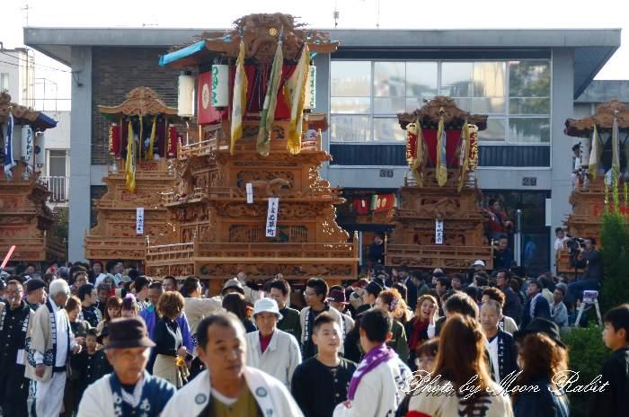 若草町屋台(若草町だんじり) ご殿前 西条祭り