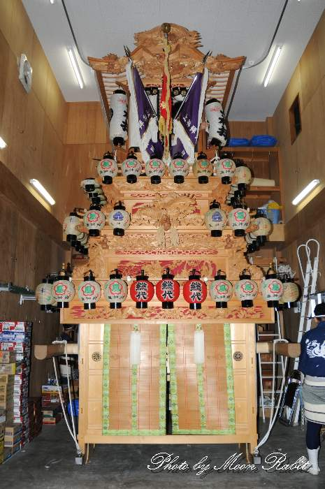 上神拝屋台蔵 愛媛県西条市神拝
