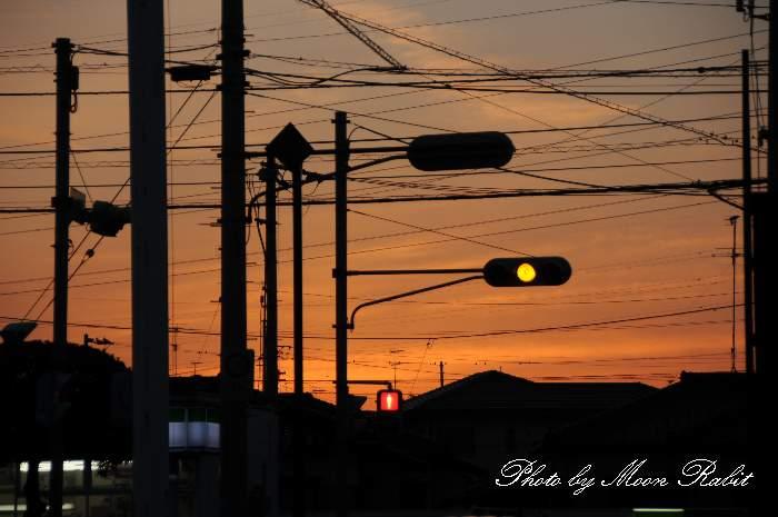 交通信号機 愛媛県西条市喜多川