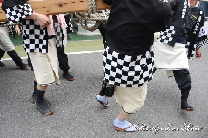上町御輿楽車 祭り装束 丹原祭り