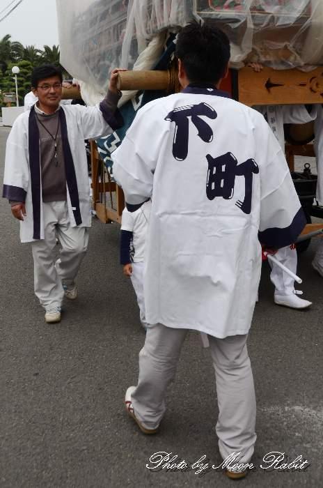 下町だんじり(下町屋台) 祭り装束 丹原祭り