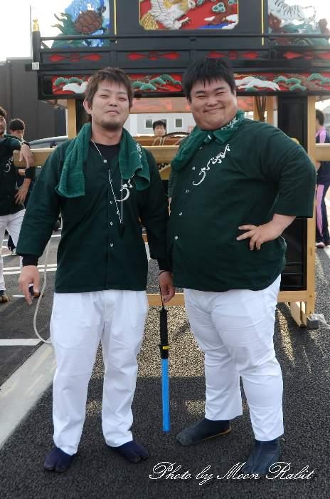 横黒だんじり(屋台) 祭り装束
