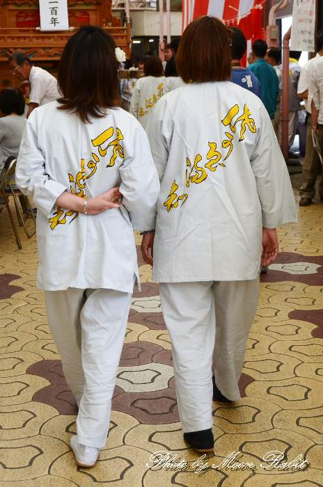 栄町上組屋台(榮町上組だんじり) 祭り装束 西条祭り