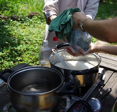 20150623豆腐作り