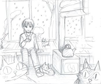 猫カフェ2
