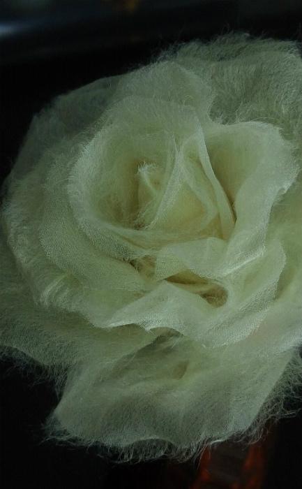ブログ和紙の薔薇アップ2