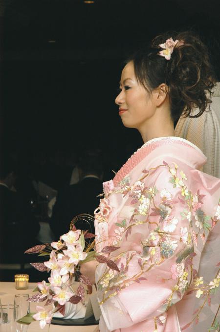 ブログ和桜ブーケ (2)