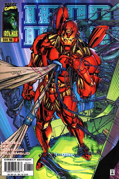 Whilce Ironman cover
