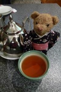 ベァーとお茶