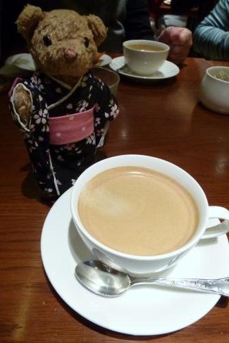 グリルキャピタル 東洋亭さん(ベァーとコーヒー)