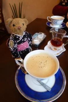 Cafe mint さん ベァーとコーヒー