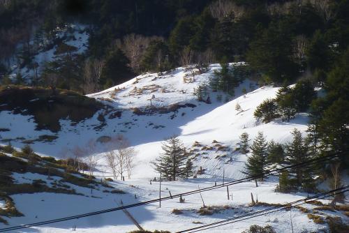 万座高原ホテル  雪景色
