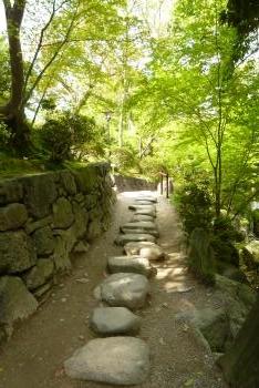 お城 (紅葉谷庭園)