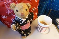 東京一人旅(ベァーとコーヒー)