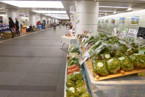 東京一人旅(駅地下)
