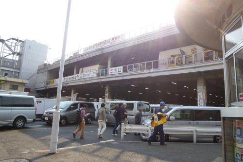 東京一人旅 築地市場