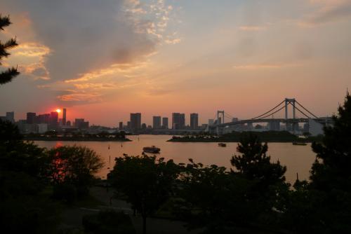 東京一人旅 お台場