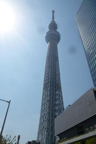 東京一人旅  スカイツリー