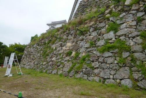 バスツァー 姫路城 石垣