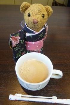 十四階農園さん ベァーとコーヒー