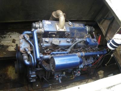 ヤマハMD55マリンディーゼルエンジン
