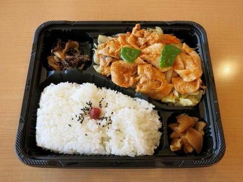 味噌野菜炒め弁当