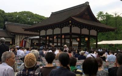 下賀茂神社の能舞台
