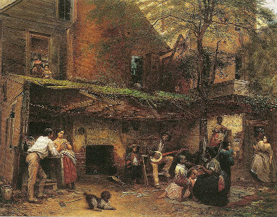 My Kentucky home 03 Eastman Johnson Negro Lifea the South ejb fig