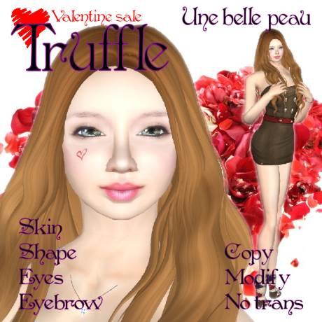 Truffle skin panel