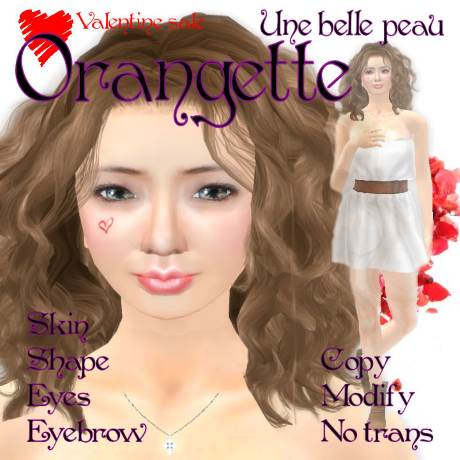 Orangette skin panel