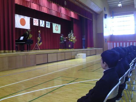 H27墨坂中学校入学式
