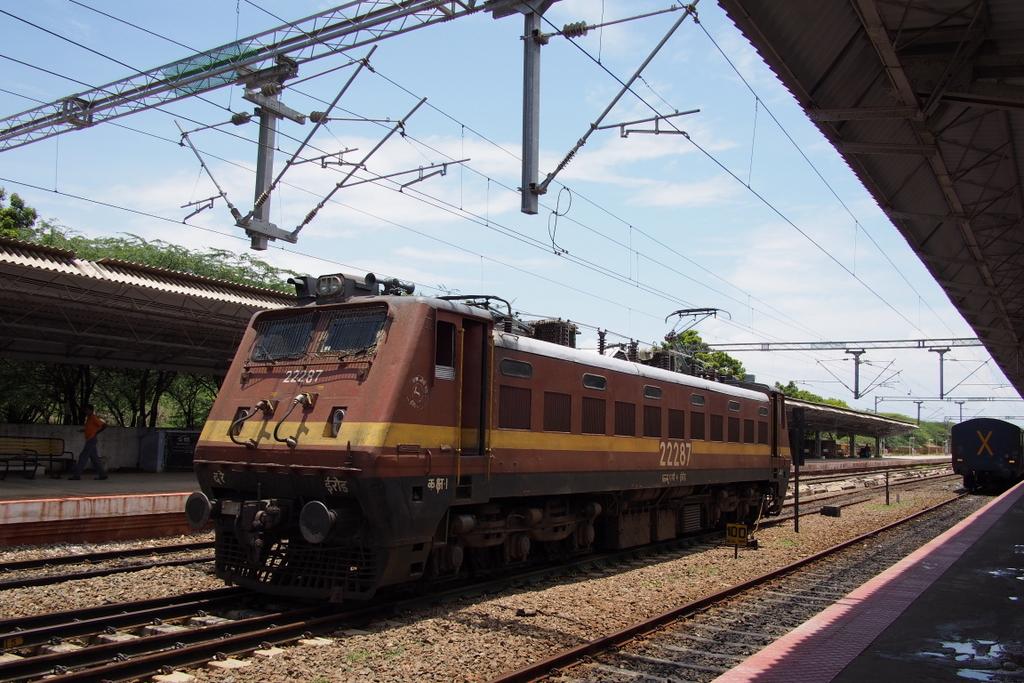 ■ まさいさん、インド国鉄に乗る トリヴァンドラム~カニャクマリ