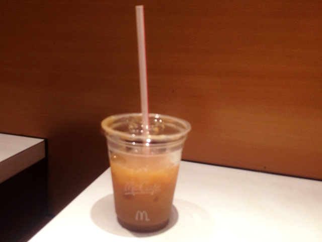 池袋西口マックのアイスコーヒー by占いとか魔術とか所蔵画像