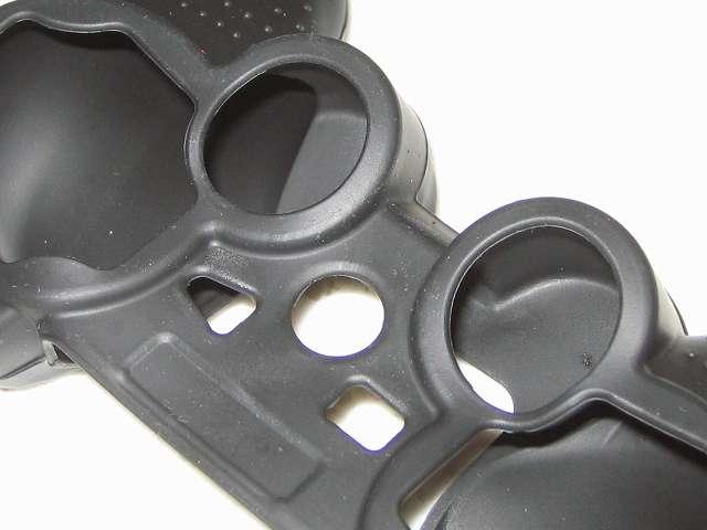 BeryKoKo PlayStation3 DUALSHOCK3 対応 ゴムカバー 爪や指の腹でこすることによりゴムカスを除去