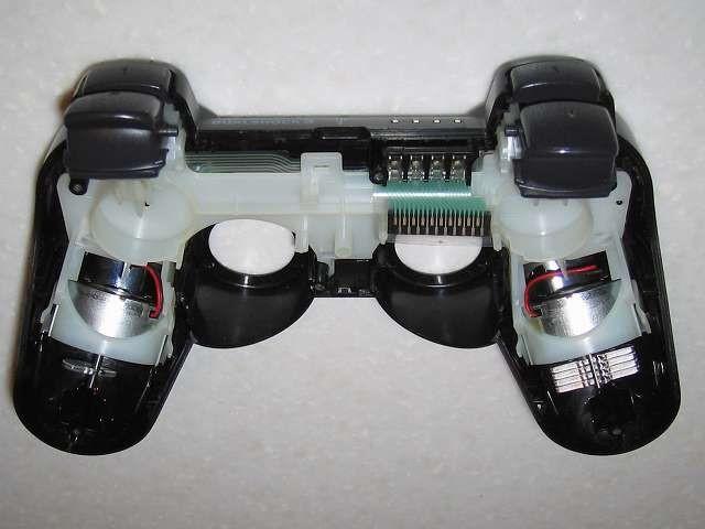 DS3 Dualshock3 デュアルショック3 Wireless Controller Black CECHZC2J A1 切断した振動バッテリーのリード線を電子回路基板に接触しないような配線向きにする