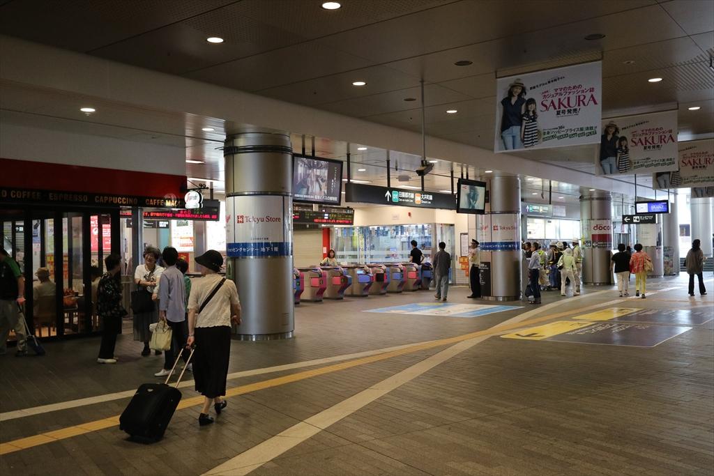 二子玉川駅から成城学園前駅行きのバスに乗車する_1