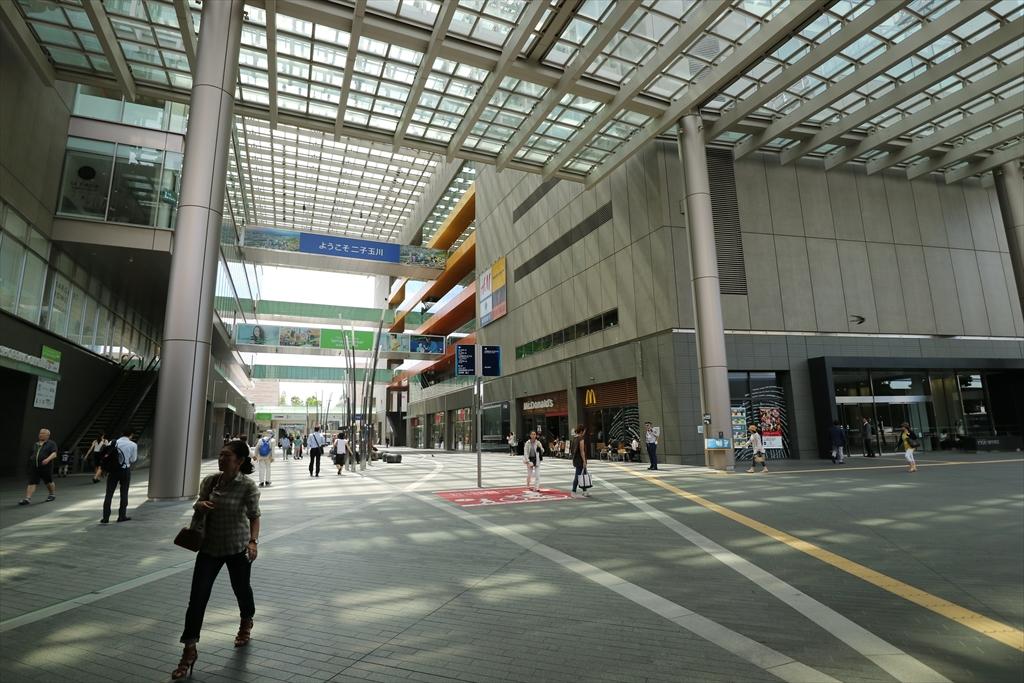 二子玉川駅から成城学園前駅行きのバスに乗車する_2