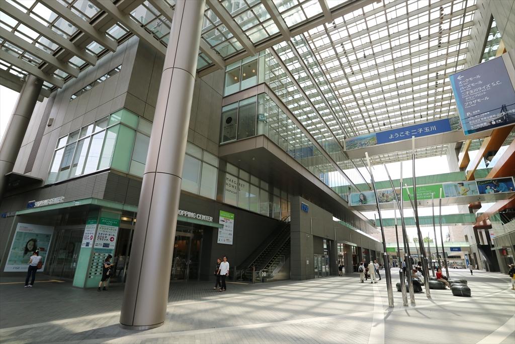 二子玉川駅から成城学園前駅行きのバスに乗車する_3