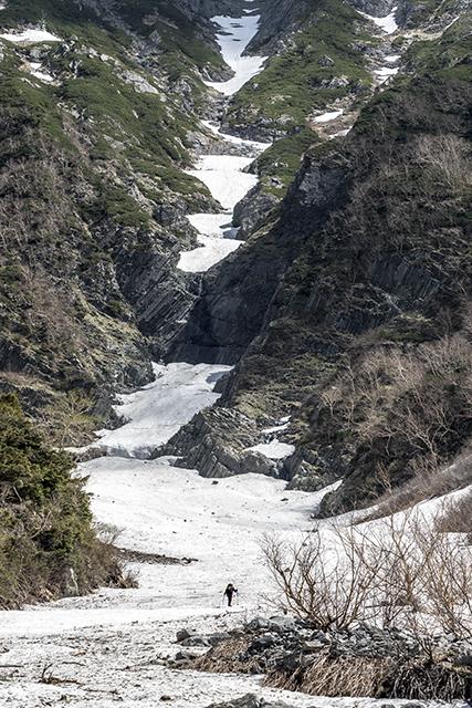 150530 岳沢にて
