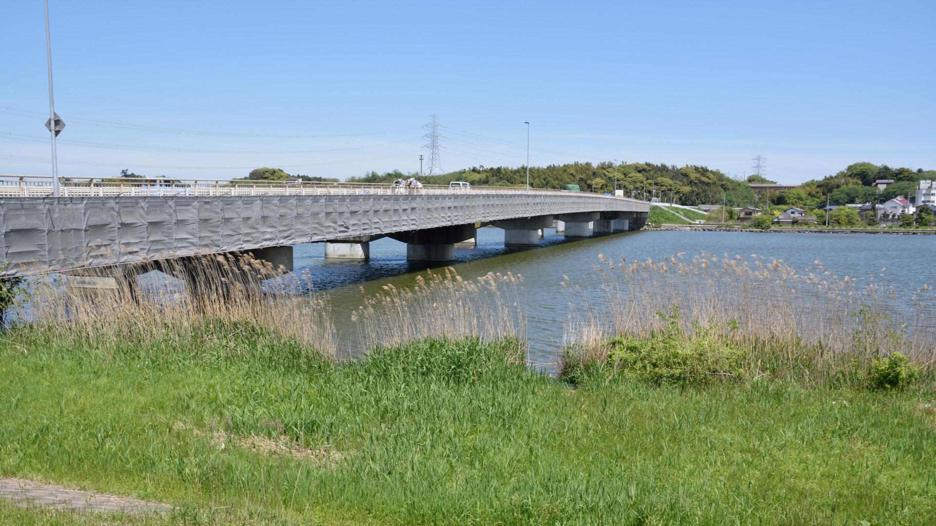 常陸利根川最上流に架かる北利根橋