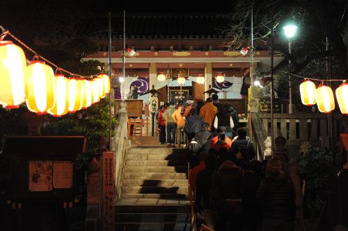 前橋八幡宮初詣