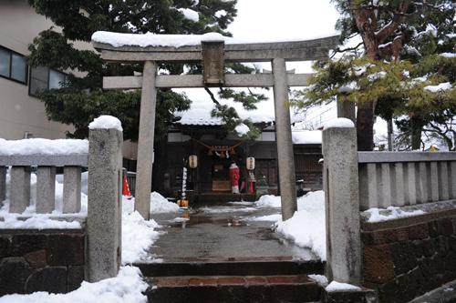 正月の東山菅原神社2015