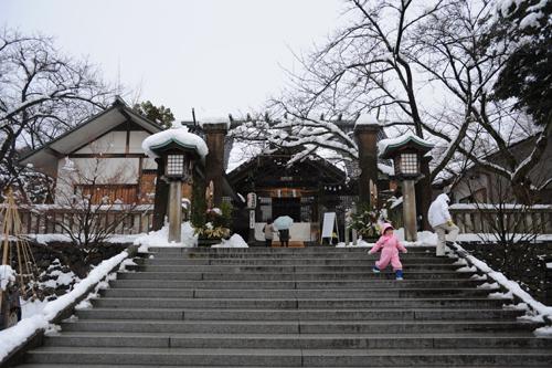 正月の宇多須神社2015