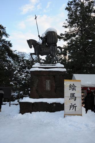 正月の尾山神社_03
