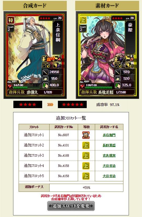 ランク★4 ランクアップ1