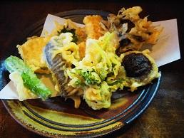 石墨②20150102野菜天ぷら