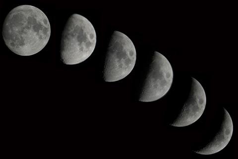 ③月の満ち欠け